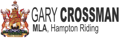Gary Crossman MLA Logo